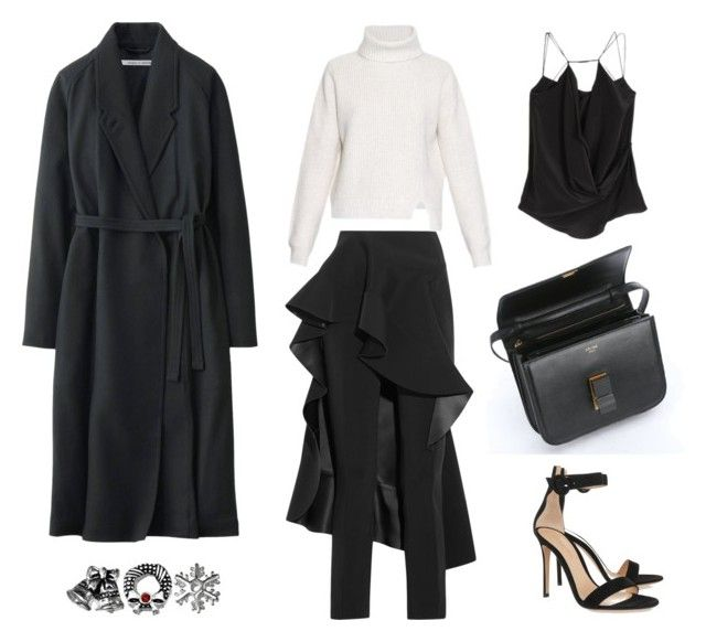 Christmas Outfit #1 by fashionlandscape on Polyvore featuring Proenza Schouler, Uniqlo, Esteban Cortazar, Gianvito Rossi and Target