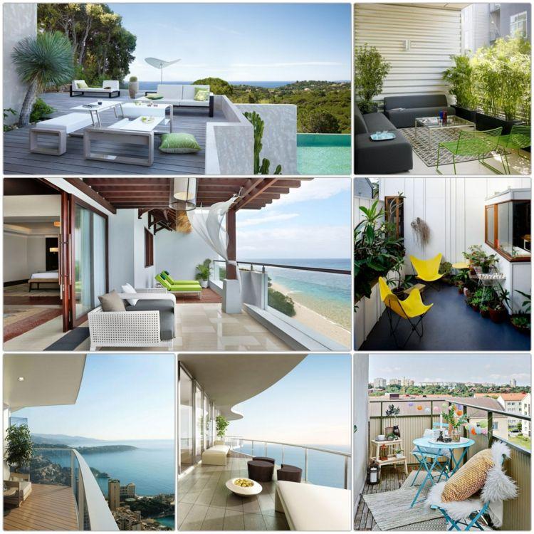 balkonideen kleiner balkon gestalten und mit pflanzen dekorieren, Garten und erstellen