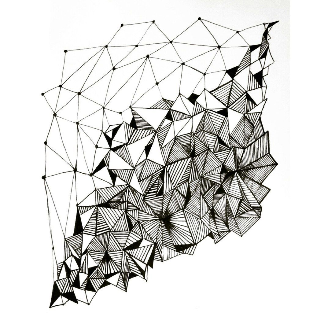 Geometric Line Drawing Artists : Geometry pattern design by annacolt on deviantart