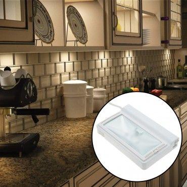 Westek Xenon Under Cabinet Light 20w 10 000hr Bulb Life Under Cabinet Lighting Cabinet Lighting Under Cabinet