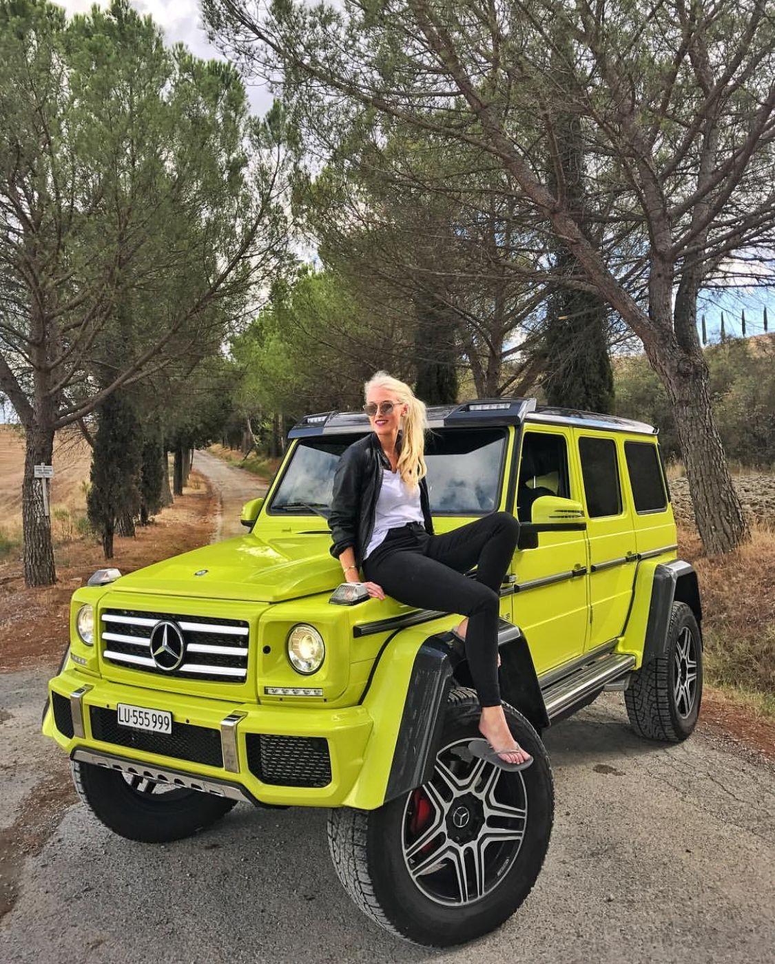 G63 Supercar Blondie Super Cars Car Girls Car Chicks