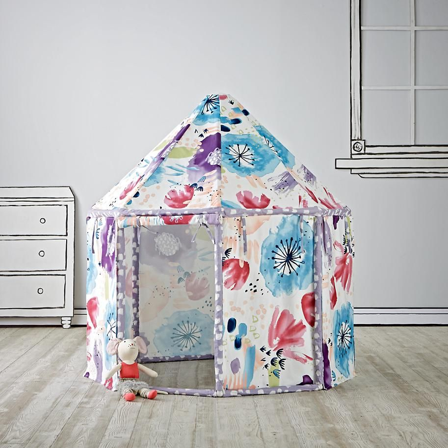 Watercolor pavilion playhouse the land of nod on sale right now for 99