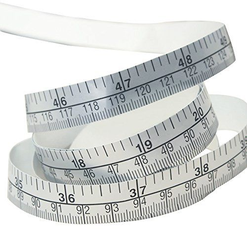 BODY MEASURING RULER SEWING CLOTH TAILOR TAPE MEASURE SOFT FLAT 60IN 150CM P//W