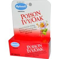 Hyland's, Poison Ivy/Oak, 50 Tablets - iHerb.com