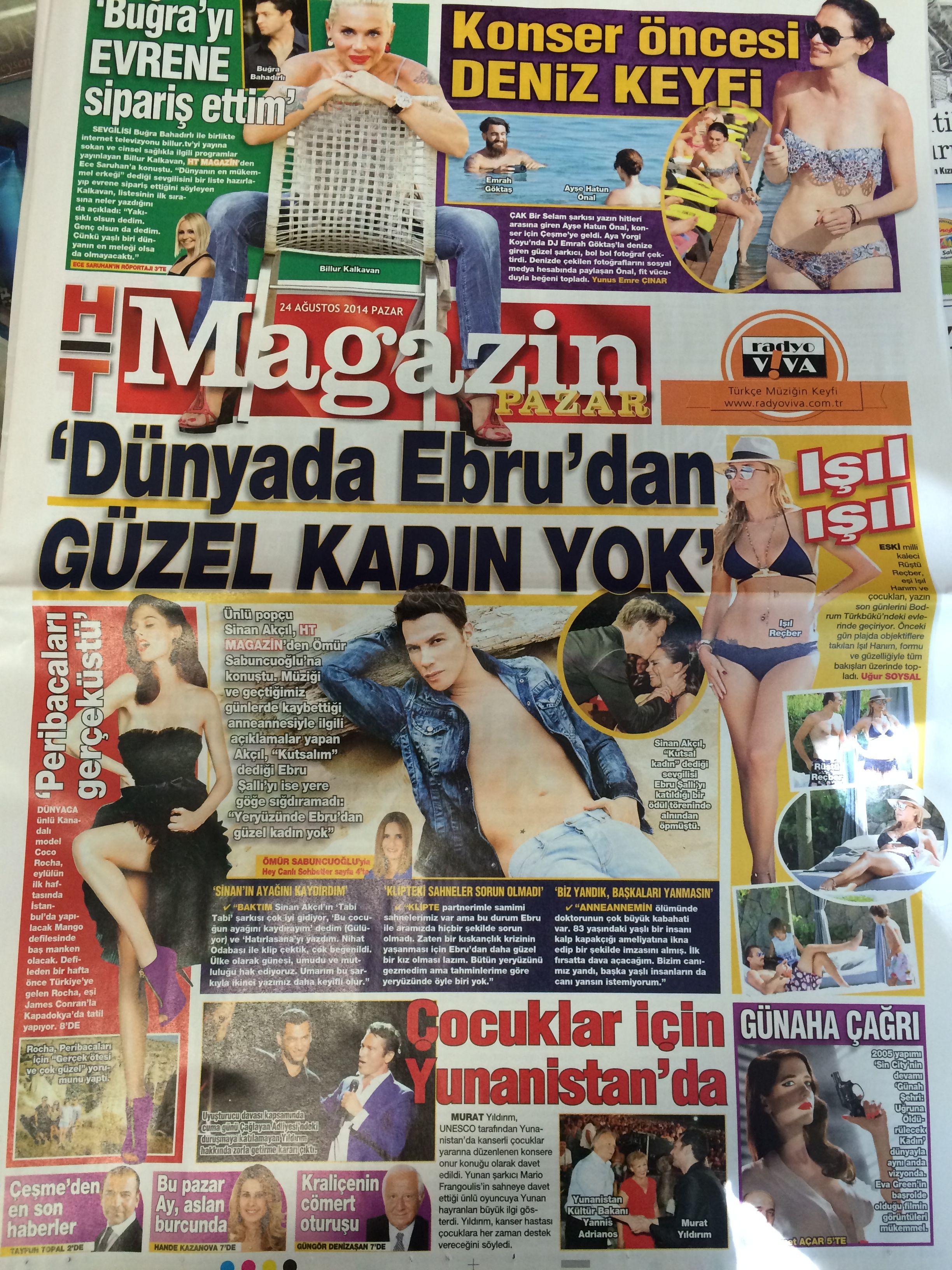 HaberTürk Magazin 24.08.2014