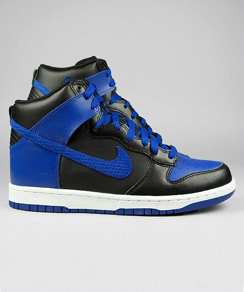 huge discount 2695e 8d8ce Nike Dunk High blackold royalwhite