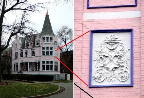 one of my dream homes the pink palace in louisville ky decor rh pinterest com