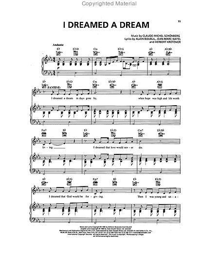 Les Miserables Sheet Music by Claude-Michel Schonberg, Alain ...