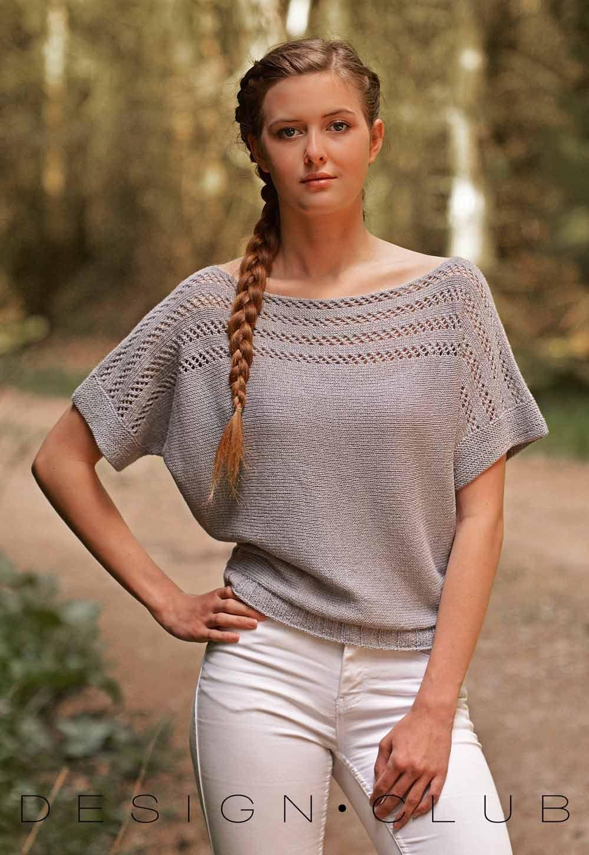 8d3880f6 design club strik garn børn silke uld knit alpaca baby pige yarn dame  sweater vest kjole kids garn sommer top summer
