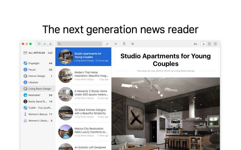 SAVE 9.99 Leaf RSS News Reader gone Free in the Apple
