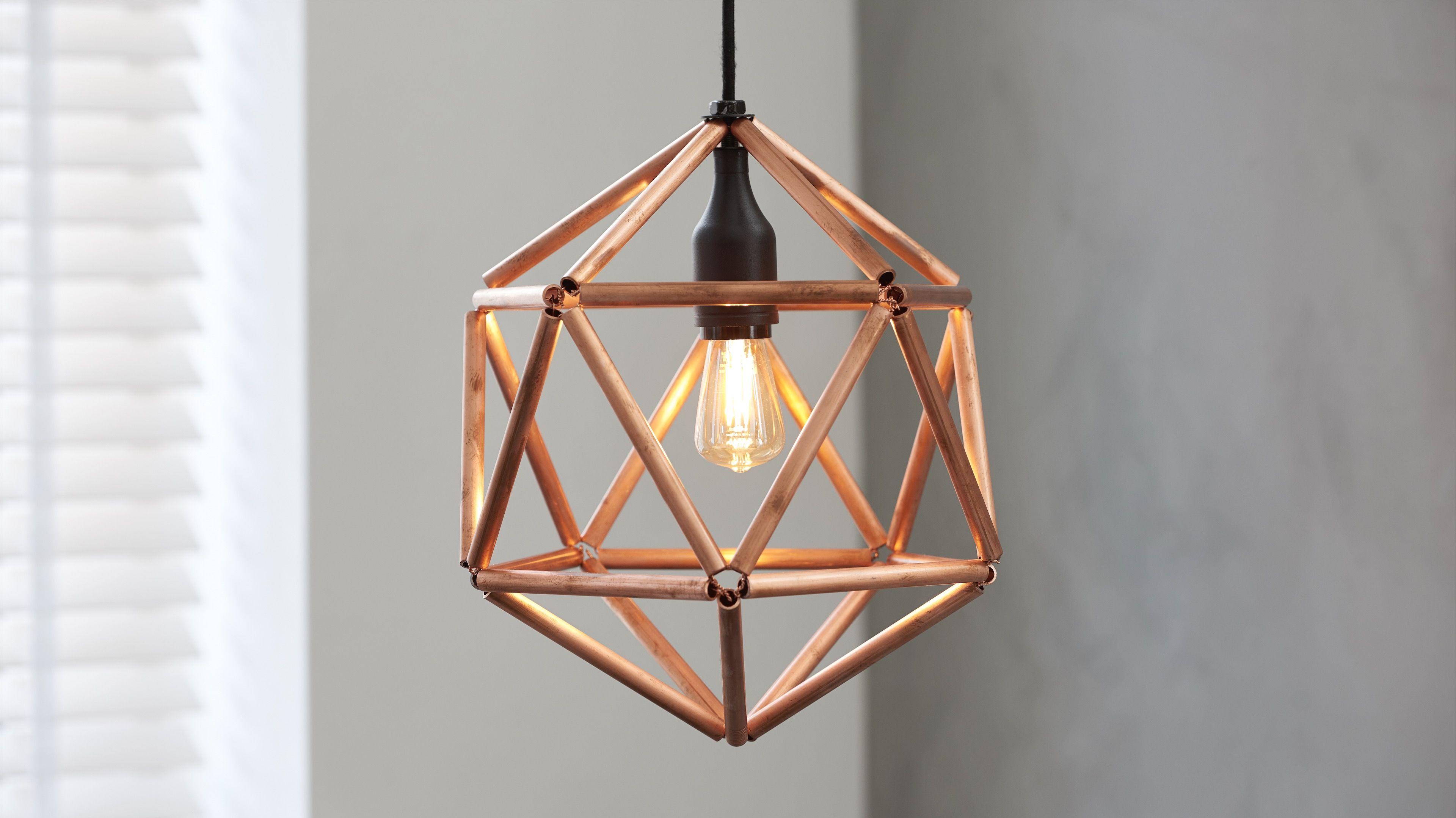 Praxis Lampen Aanbieding : Industriele koperen lamp maken in 2019 stappenplannen praxis
