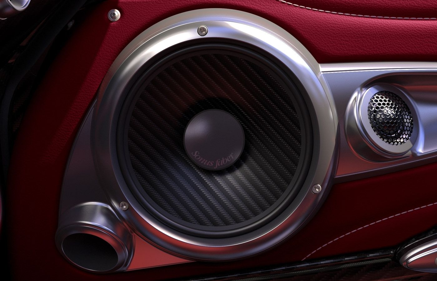 High End Car Speakers By Sonus Faber Complete Car Audio System For The Pagani Huayra Car Audio Systems Car Audio Custom Car Audio