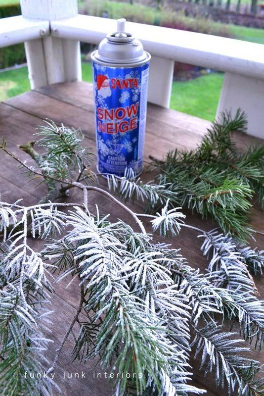 Christmas Tree Spray Snow.How To Make It Snow In Your Home Realistically Snow