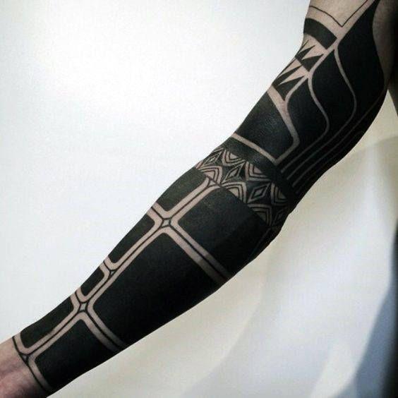 Top 63 Blackwork Tattoo Ideas 2020 Inspiration Guide All Black Tattoos Blackwork Tattoo Maori Tattoo