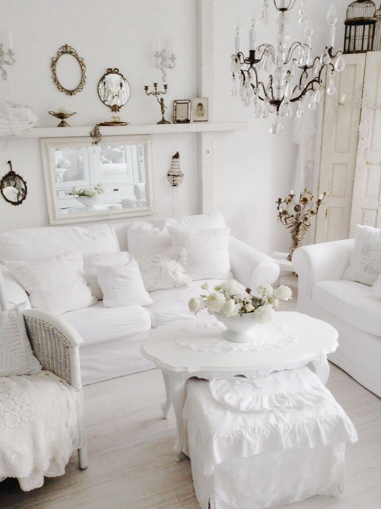 Best Another Really Lovely All White Room Chic Living 400 x 300