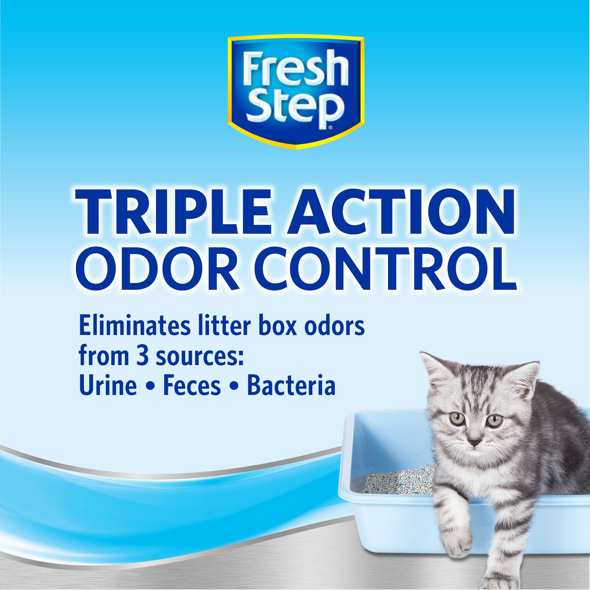 Fresh Step Scented Clean Paws Triple Action Clumping Cat