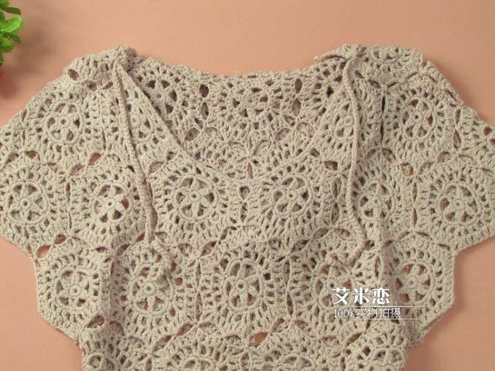 Crochet Patterns to Try: Crochet Winter Layering Top - Free Crochet ...