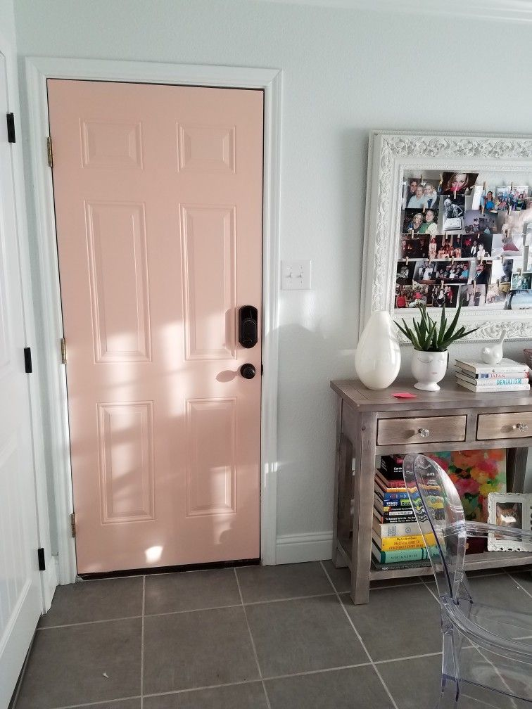 painted the steel door going to my garage the color is on valspar paint colors interior id=59316
