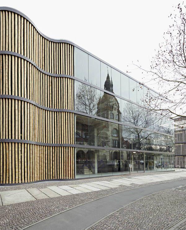 Architekten In Leipzig haptische hülle parkhaus hpp architekten in leipzig parkhaus