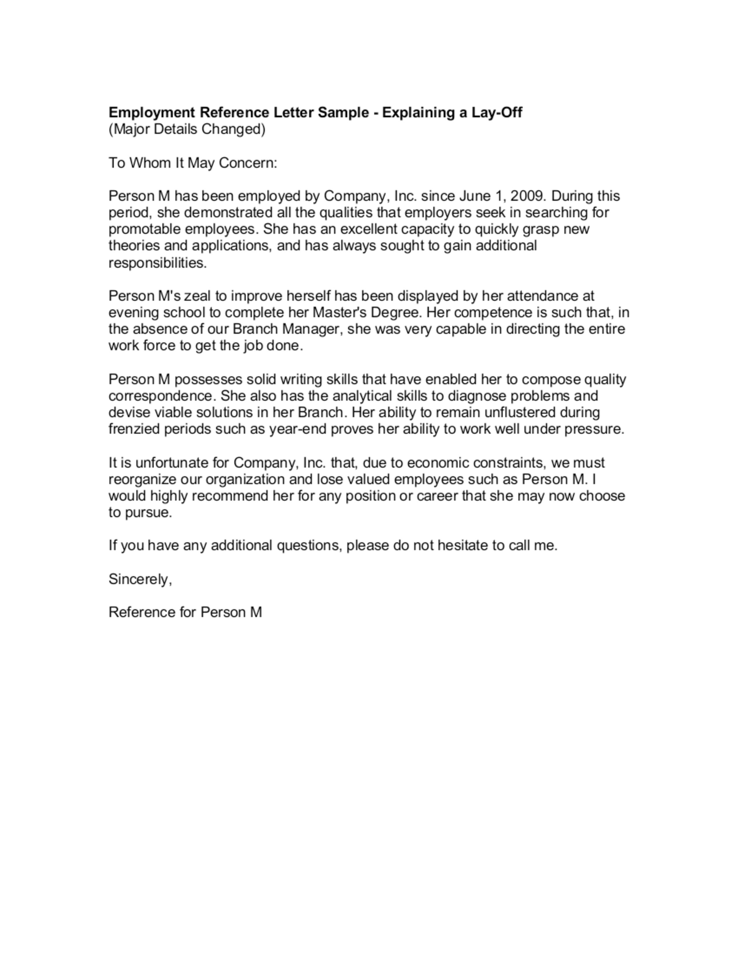 Everything You Need To Know About Recommendation Letter Template Professional Reference Letter Reference Letter Reference Letter Template Recommendation letter sample from employer