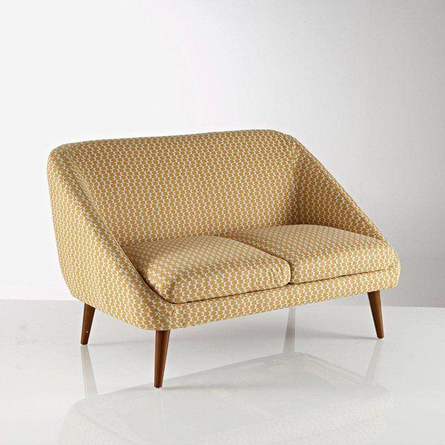 canap vintage semeon 2 ou 3 places la redoute interieurs. Black Bedroom Furniture Sets. Home Design Ideas
