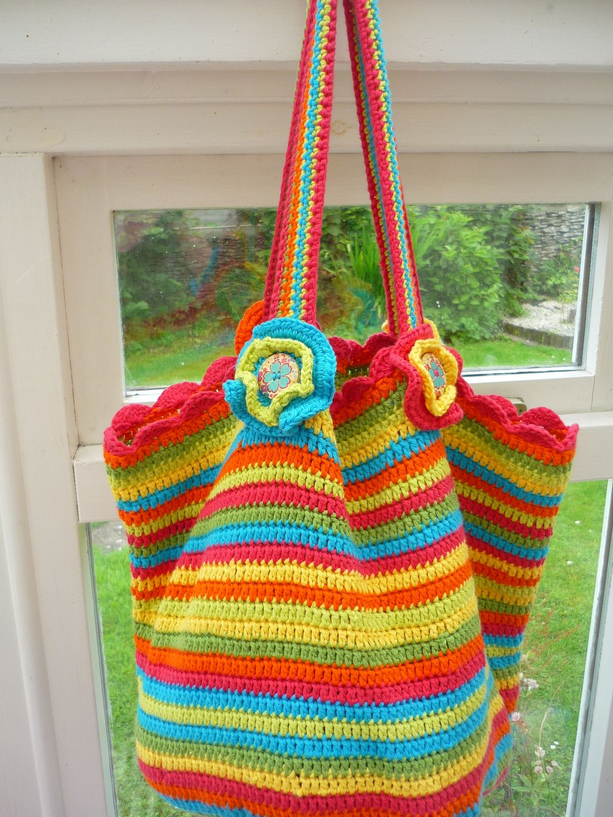 Tropical summer bag | Needlework/Sewing | Pinterest | Verschiedenes