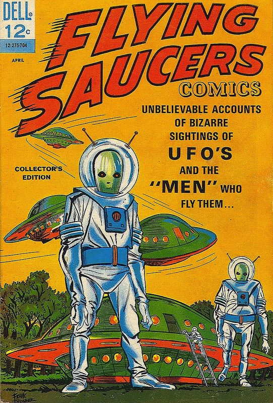Flying Saucers Comics no. 1, 1967. | Flickr - Photo Sharing!