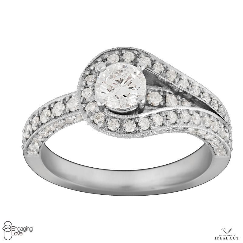 Love Knot Engagement Ring 20