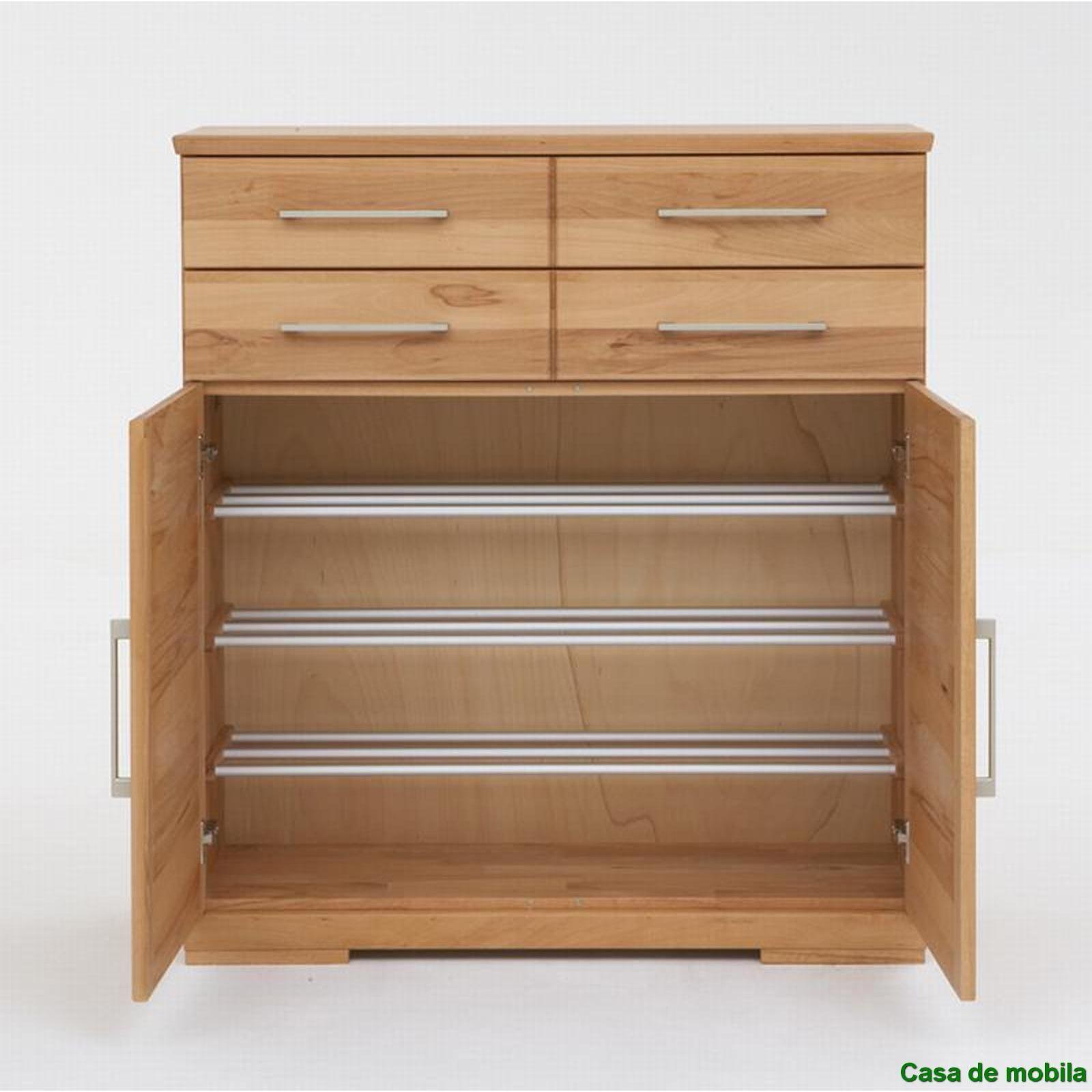 schuhschrank holz catlitterplus. Black Bedroom Furniture Sets. Home Design Ideas