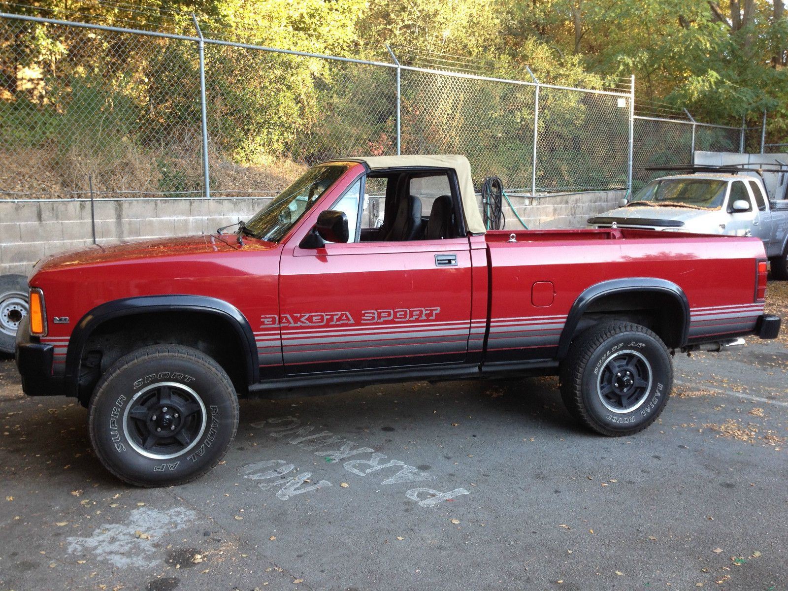 89 dodge dakota factory convertible 4x4