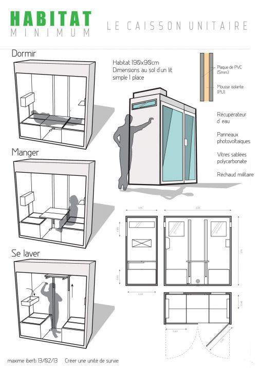 Habitat minimum design moi un emploi cabane for Kodasema maison