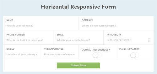 Responsive-CSS3-Application-Style-Form-Fields | Tablet UI ...