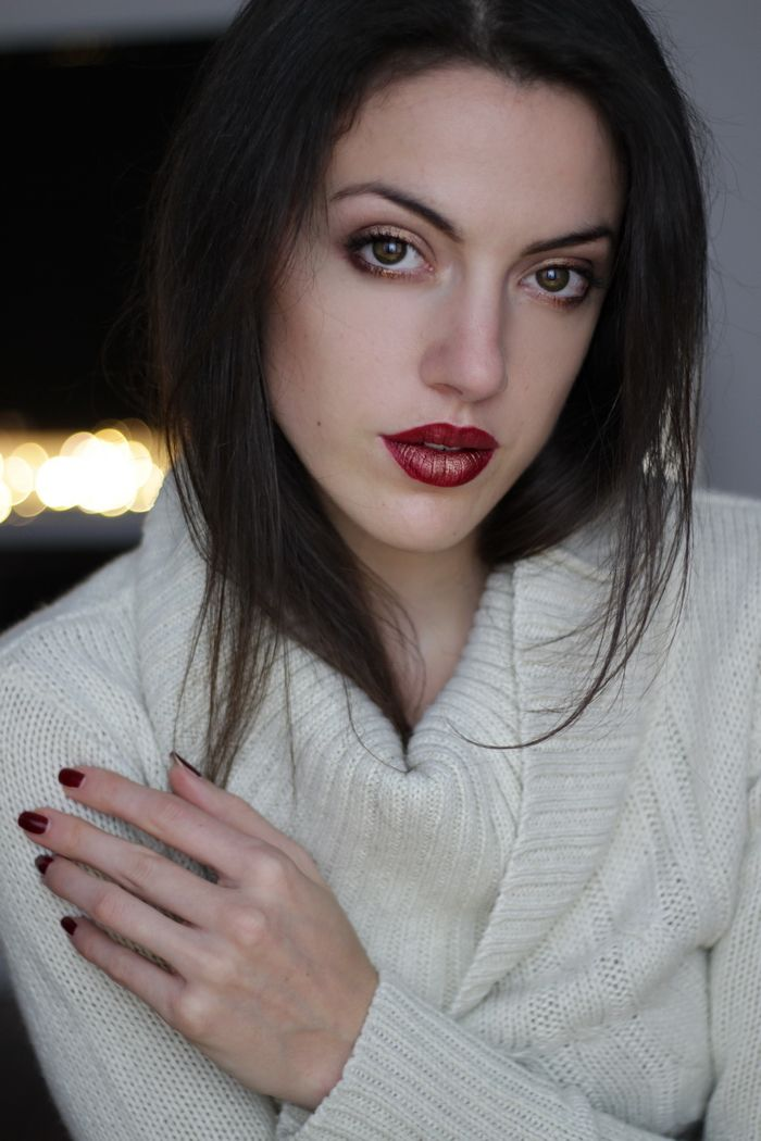 Weihnachts Makeup für jede Gesichtsform