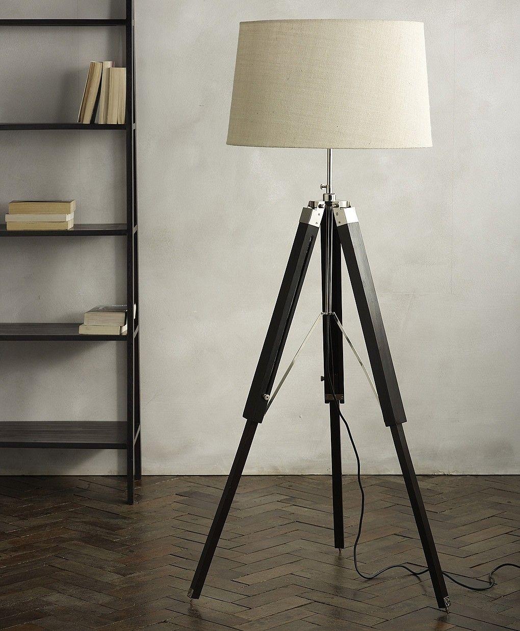 Gen Lite Reclaimed Wood Tripod Floor L& & Gen Lite Reclaimed Wood Tripod Floor Lamp | http://afshowcaseprop ... azcodes.com