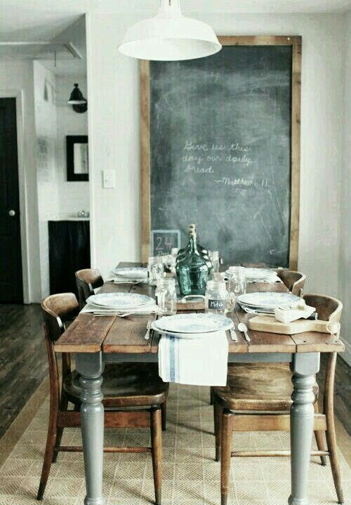 Im so in love with this style the table the whole setting i dig this
