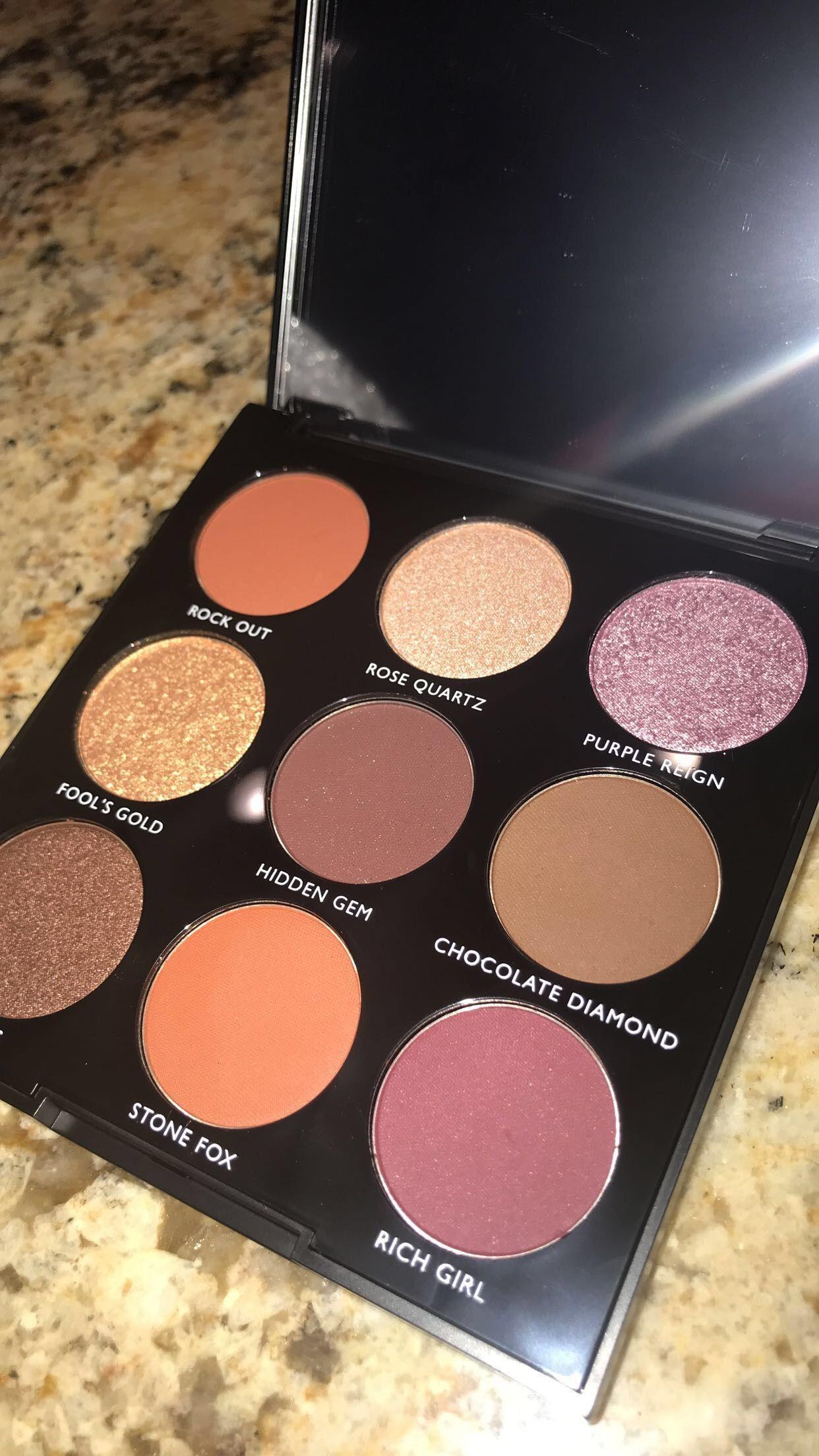 Morphe 9C Jewel Crew eyeshadow palette Makeup palette