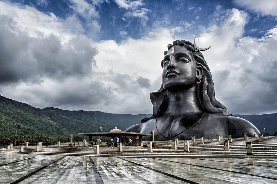 Adiyogi Shiva Statue Rainforest Photography Shiva Meditation Shiva Statue Adiyogi statue shiva wallpaper hd
