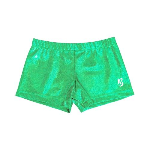 Sparkly Green Shorts July 2017