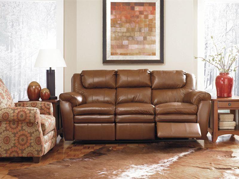 Lane Dual Reclining Leather Sofa Caramel brown top grain u201cleatheru201d dual reclining with & Lane Dual Reclining Leather Sofa: Caramel brown top grain u201cleather ... islam-shia.org
