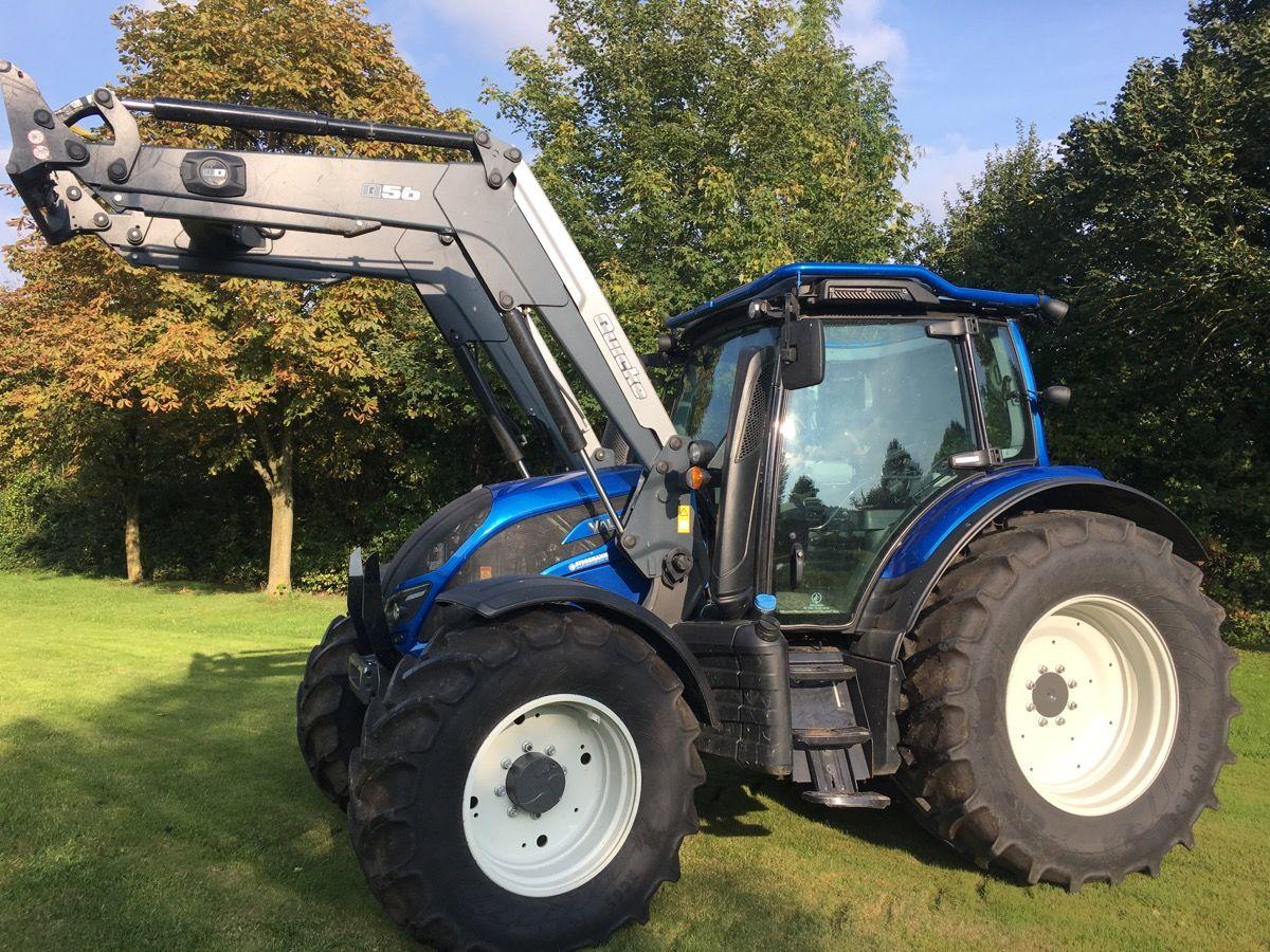 Ausmalbilder Traktor Mit Sämaschine : Valtra N154 Ea Mit Forstkabine Und Frontlader Traktoren