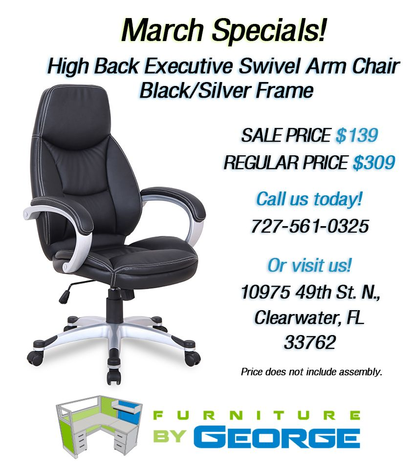 Monthly Office Furniture Specials Clearwater Tampa St Petersburg Furniture Clear Water Houston Furniture