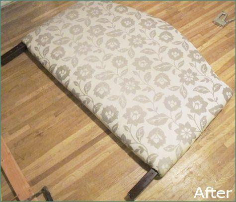diy headboard fabric | Home Decor | Diy fabric headboard ...