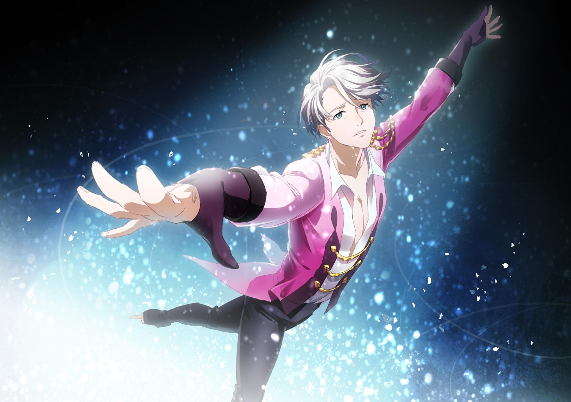 Anime Yuri On Ice Victor Nikiforov Wallpaper การออกแบบต วละคร