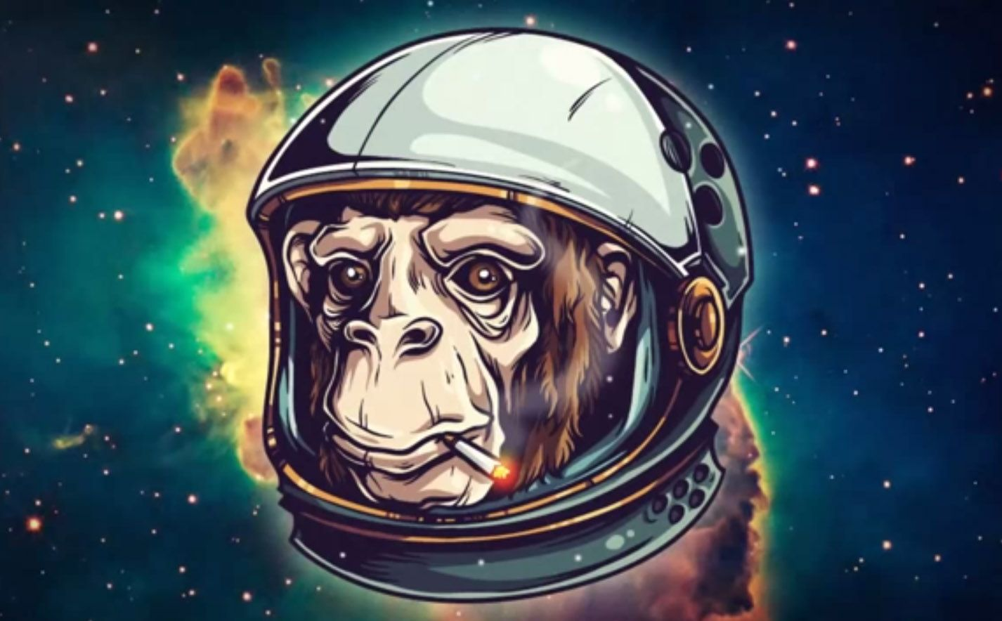 Create a space chimp illustration tutorial illustrations for Design space adobe