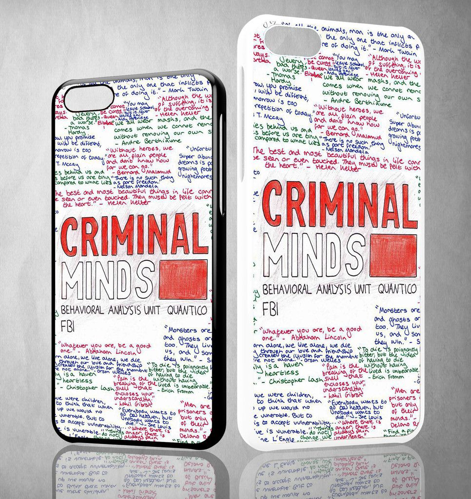 criminal minds quotes X1662 iPhone 4S 5S 5C 6 6Plus, iPod 4 5, LG G2 ...