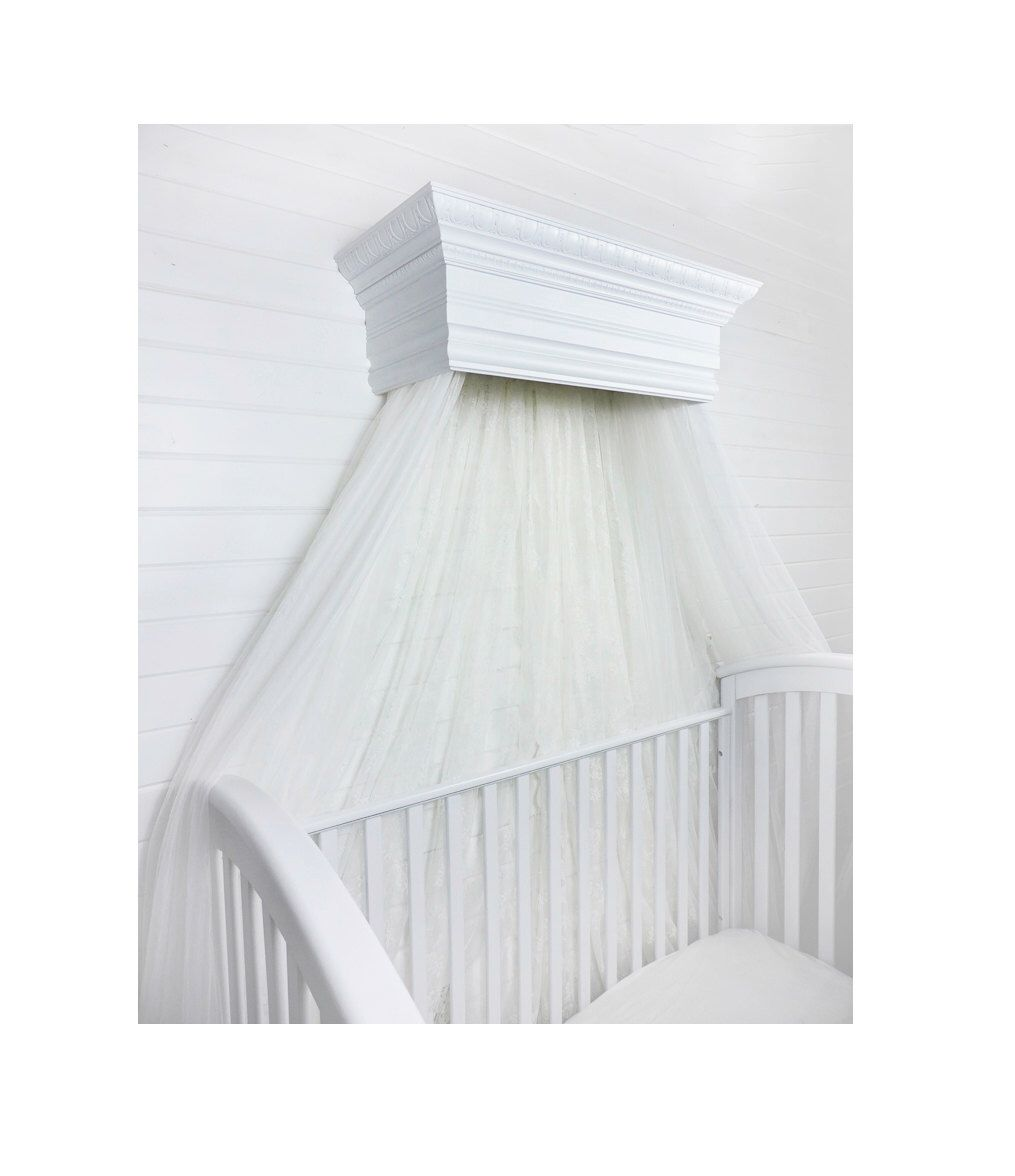 Crib for sale wichita ks - Bed Crown Canopy Crib Crown Wall Teester Bedroom And Nursery Decor Shabby