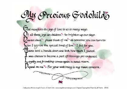 Quotes About Godchildren Godchild Godchild Daughter Quotes