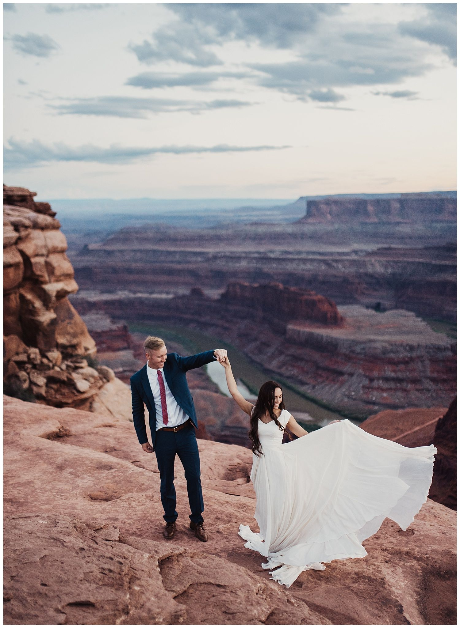 Red Rock Bridals At Dead Horse Point Marry Me Pinterest