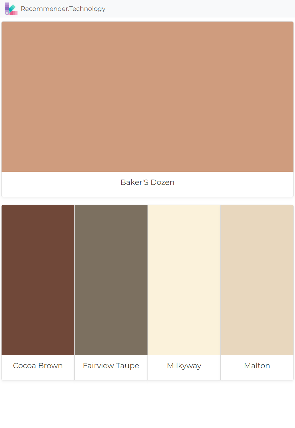 Baker S Dozen Cocoa Brown Fairview Taupe Milkyway Malton Paint Colors For Home Perfect Paint Color Paint Colors Benjamin Moore