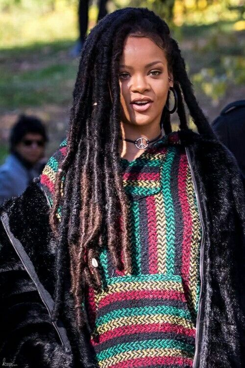 new hair styles rihanna dreads hair dreads rihanna 5480